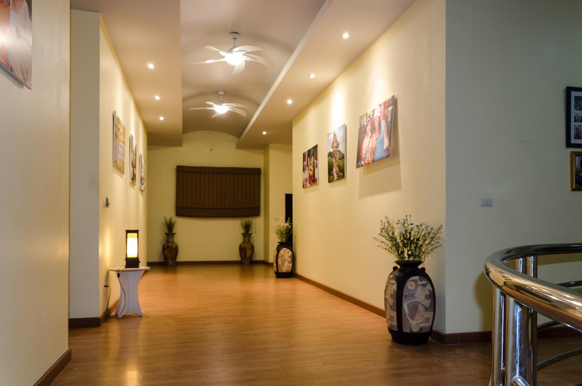 Buriram 2nd floor hallway