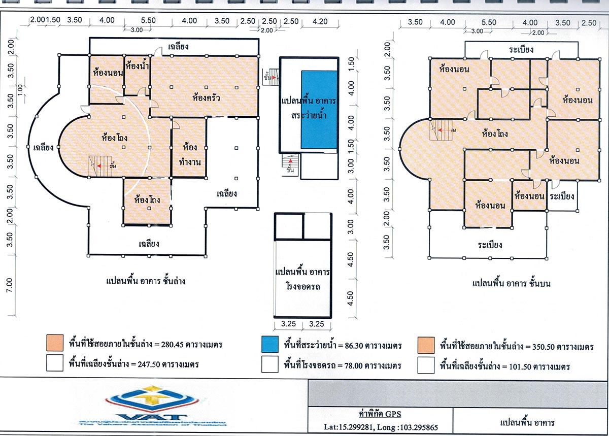 Buriram House Home Size Appraisal 2019