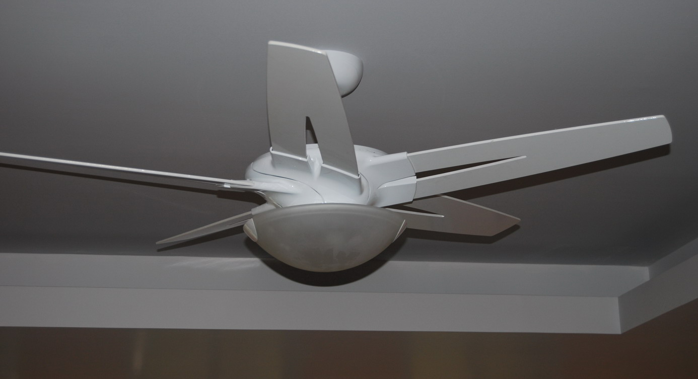 Emerson Fan installed in Home Theater March 23rd