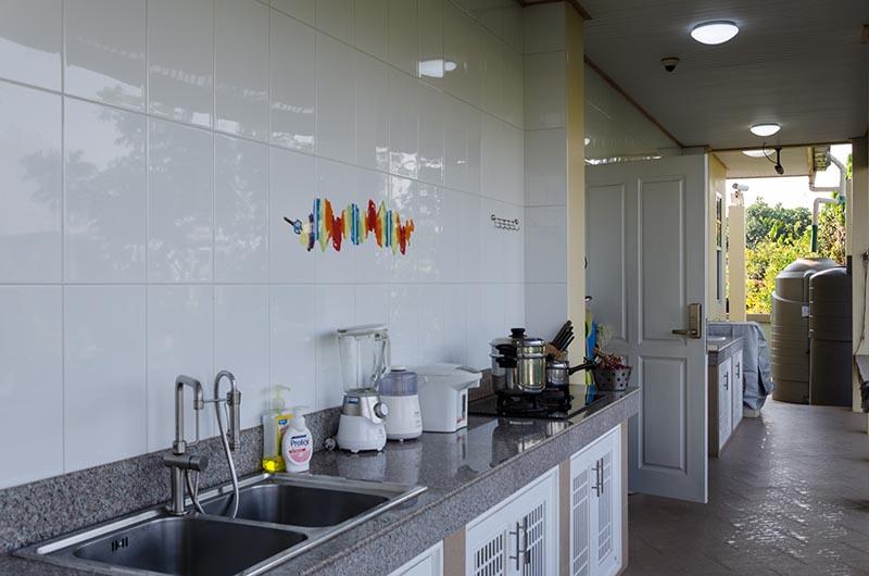 Buriram Thai Style Outdoor Kitchen