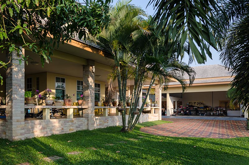 Buriram House Patio