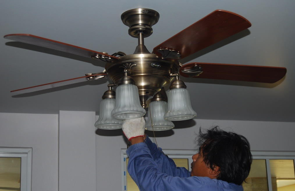 Buriram Hunter Ceiling Fan Home Office