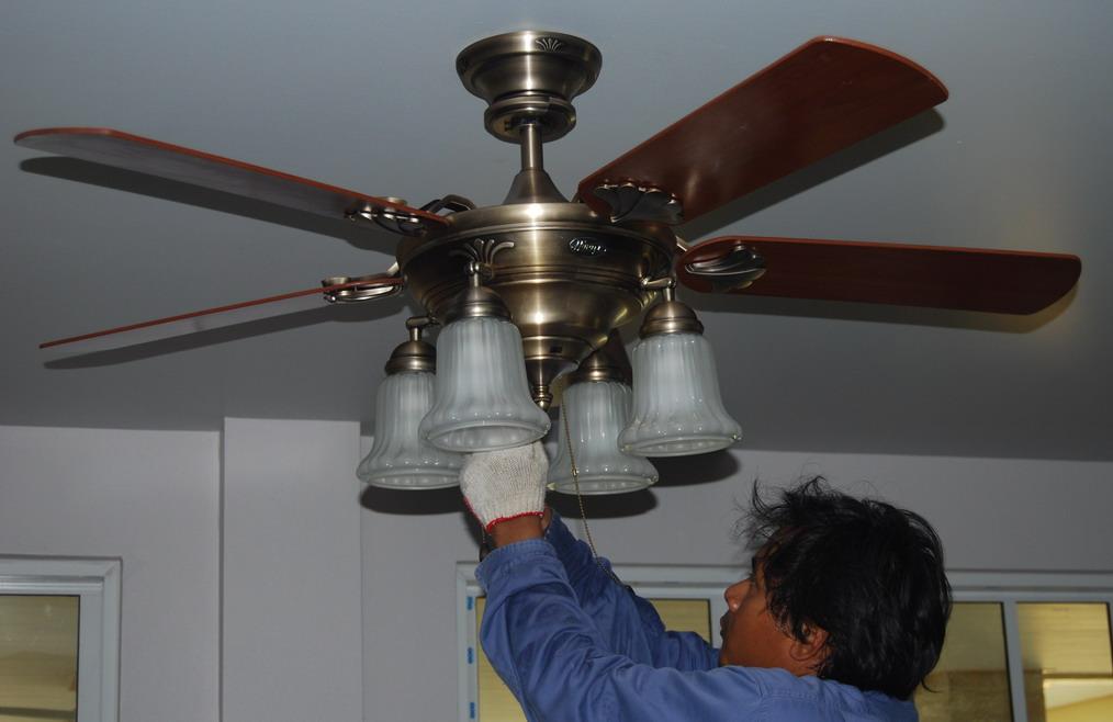 Buriram Hunter Ceiling Fan Home Office